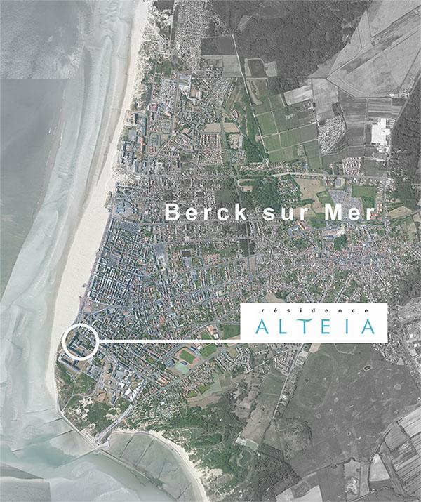 Le projet Altéia fait face à la mer.